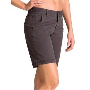 Athleta Cotton Fo Sho Bermuda Shorts